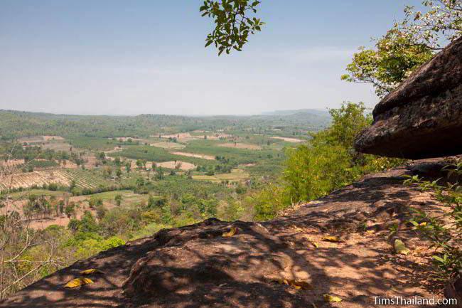 Pha Sadet cliff in Phu Phrabat Historical Park in Udon Thani, Thailand.