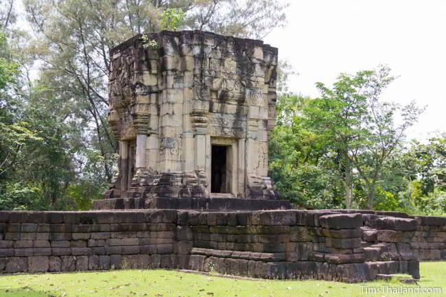 Ban Phluang Khmer ruin in Thailand.