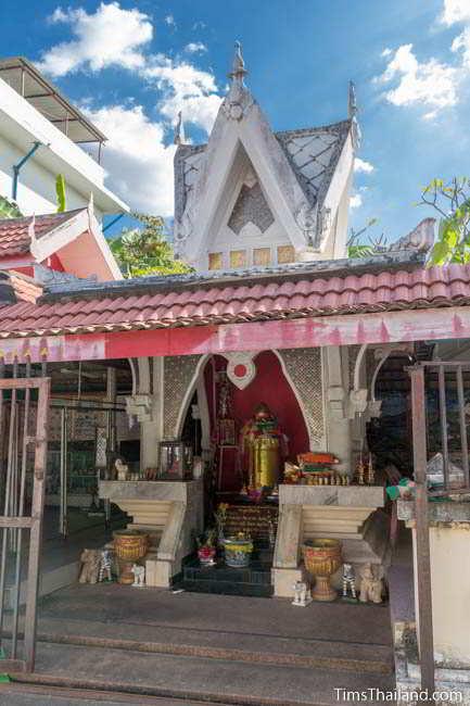 Original city pillar shrine for Khon Kaen