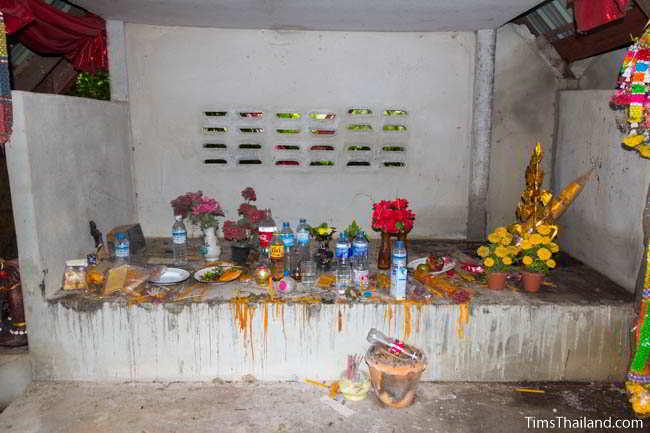 Second Khon Kaen city pillar shrine, at Ban Non Mueang