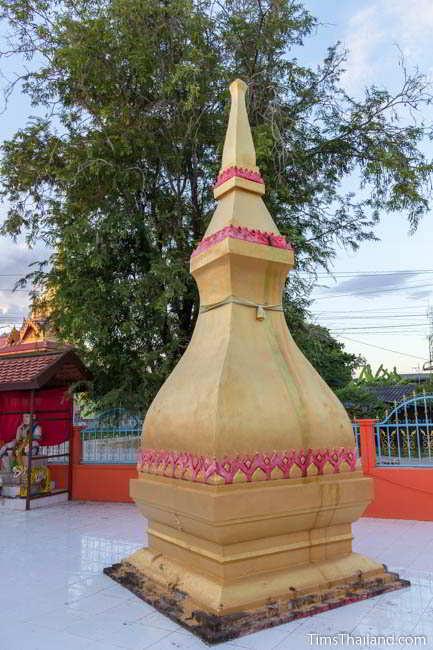 Fifth Khon Kaen city pillar shrine, at Ban Thum