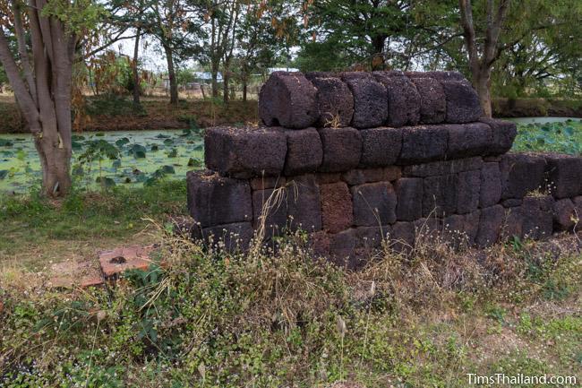 enclosure of Ku Buamat Khmer ruin