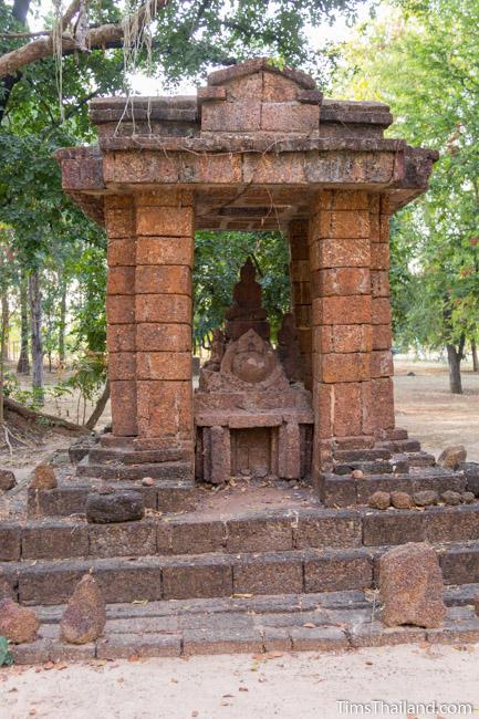 shrine made form laterite of Ku Mithila Khmer ruin