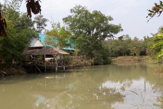 northern part of moat around Ku Sampan Ka Khmer ruin