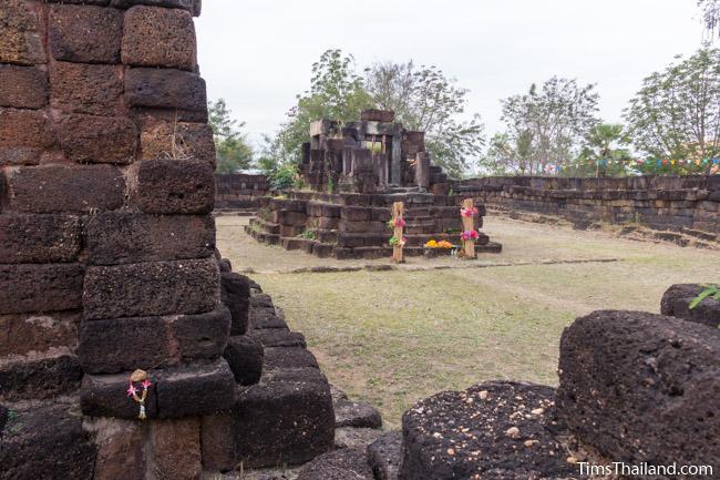 sanctuary and library of Ku Kaew Khmer ruin Khon Kaen