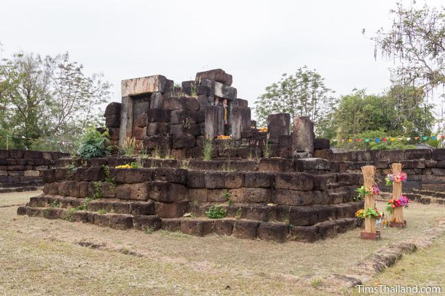 sanctuary of Ku Kaew Khmer ruin Khon Kaen