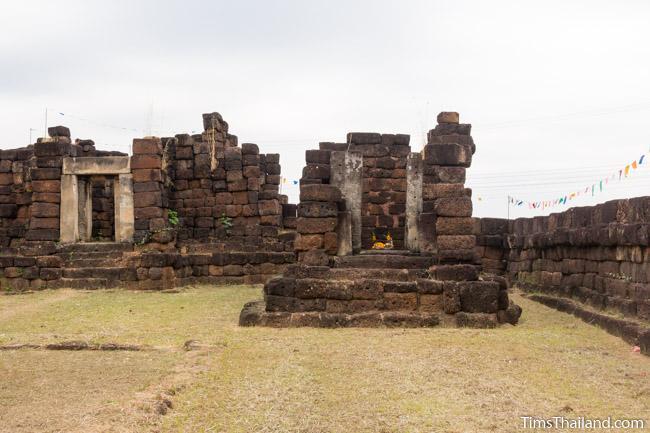 gopura and library of Ku Kaew Khmer ruin Khon Kaen