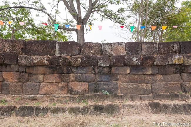 enclosure of Ku Kaew Khmer ruin Khon Kaen