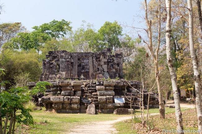 Phra That Phu Phek Khmer ruin