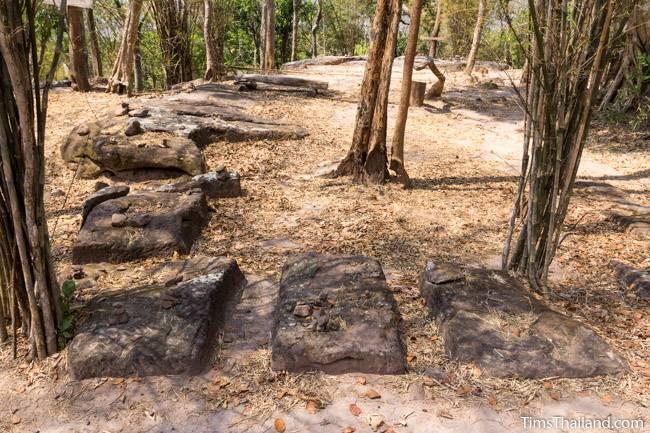 quarry at Phra That Phu Phek Khmer ruin