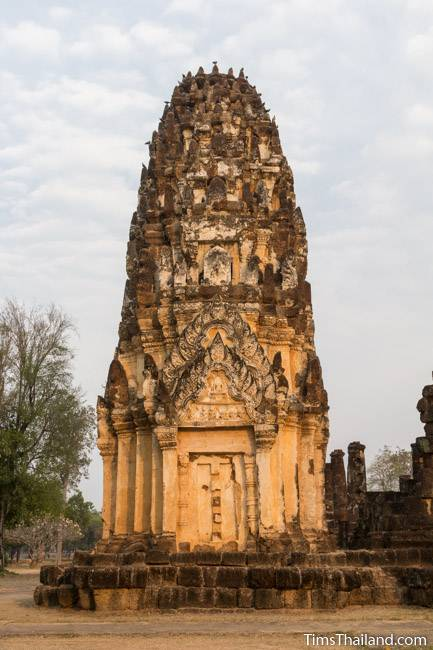north tower of Wat Phra Phai Luang Khmer ruin