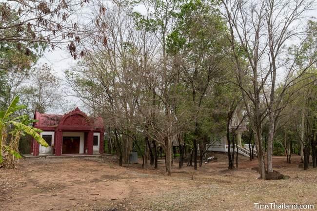 museum building at Non Thaen Phra Khmer ruin