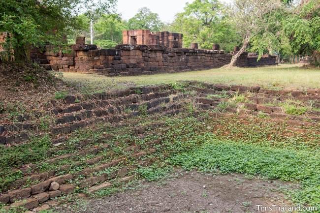 pond of Prang Ku Ban Nong Faek Khmer ruin