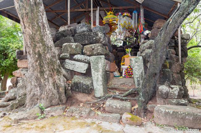 west doorway of Prang Ku Kaeng Sanam Nang Khmer ruin