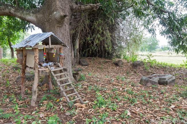 spirit house at Sop Namman Khmer ruin