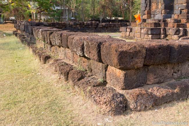 enclosure of Prang Ku Chaiyaphum Khmer ruin