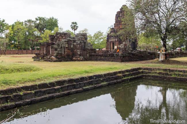 pond of Prang Ku Chaiyaphum Khmer ruin