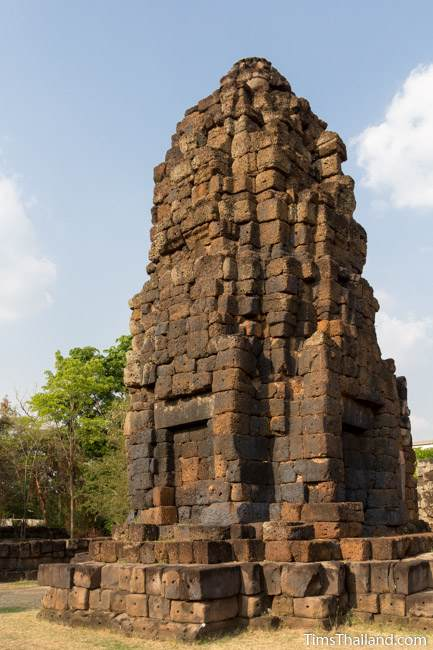 back of tower of Prang Ku Chaiyaphum Khmer ruin