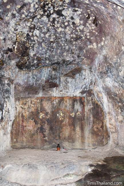 interior of south Kao Kuha Cave