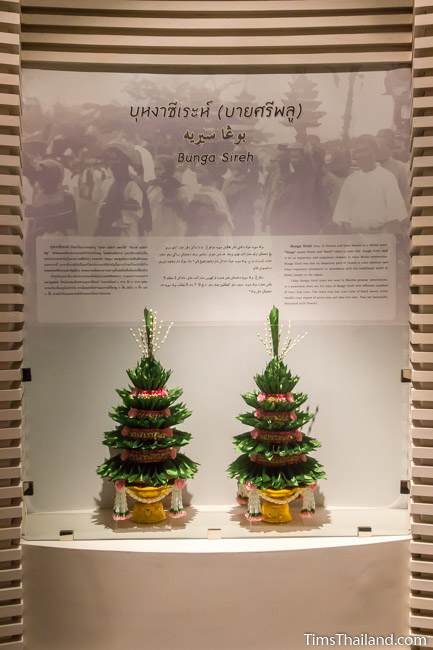 bunga sireh trees in Narathiwat City Museum