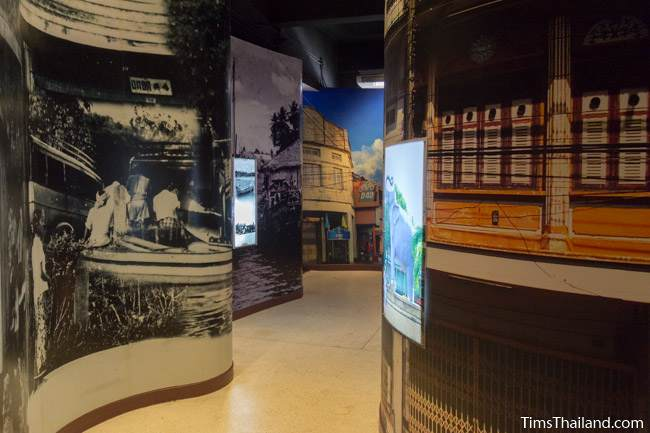 photos of the city in Narathiwat City Museum