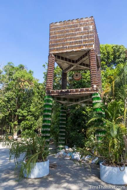 Wat Khuat bottle temple's water tower