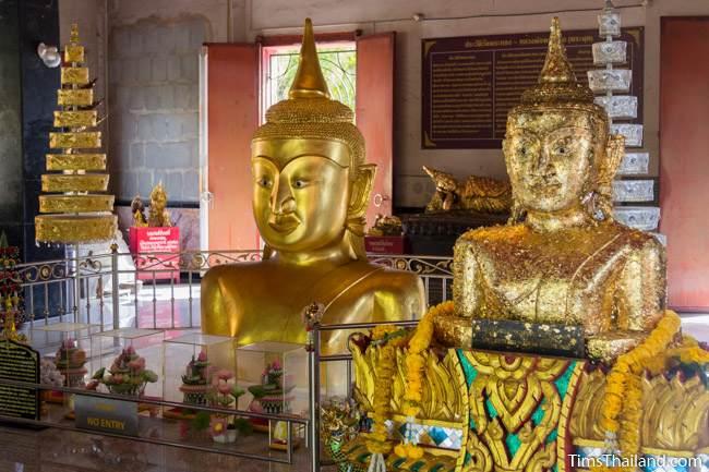 Luang Por Phra Phut Buddha image and its duplicate