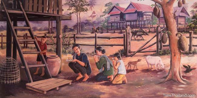 mural of fifth khong