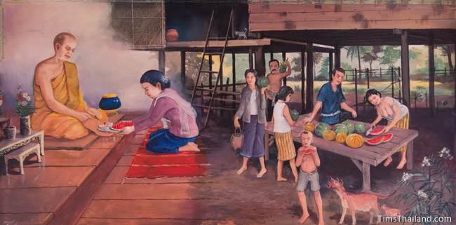 mural of first khong