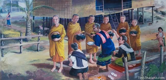 mural of ninth khong