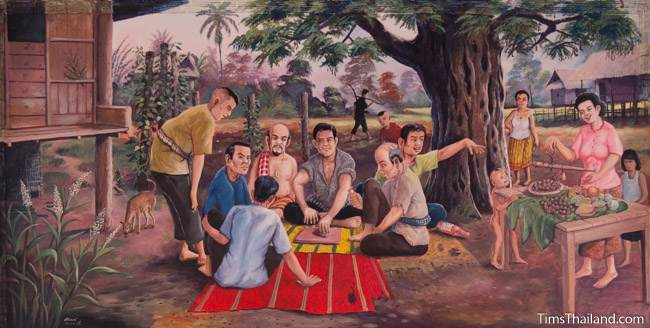 mural of second khong