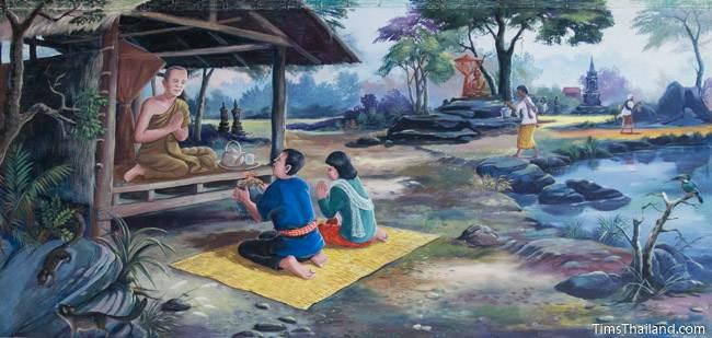 mural of tenth khong