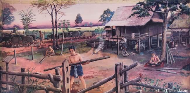 mural of third khong