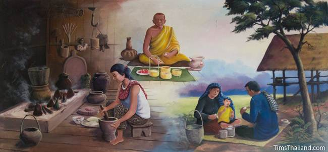 mural of thirteenth khong