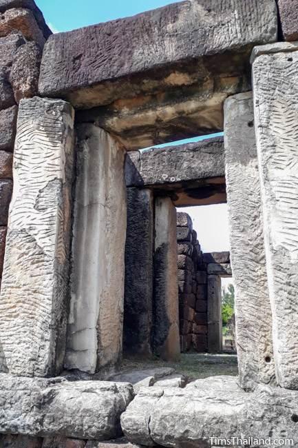 front entrance of gopura at Ku Kaew Khmer ruin