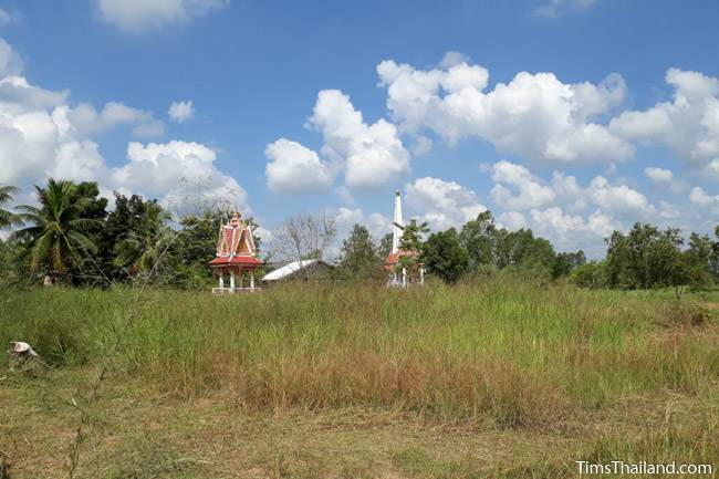 location of moat of Ku Kaew Khmer ruin