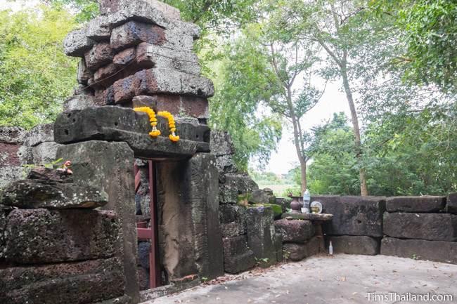 tower at Prang Sra Pleng Khmer ruin