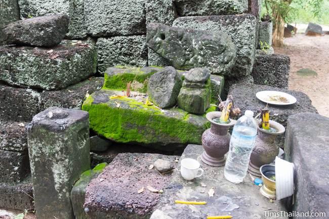 shrine at Prang Sra Pleng Khmer ruin