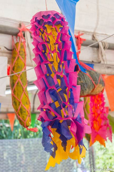 paper lantern for Kathin celebration
