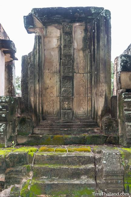 east false door at Prang Phakho Khmer ruin