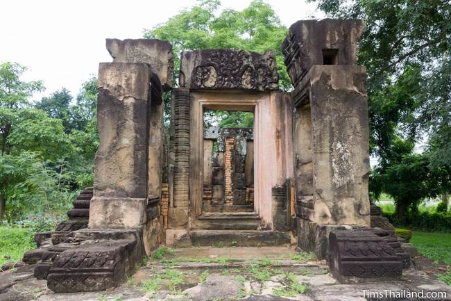 front view of library at Prang Phakho Khmer ruin