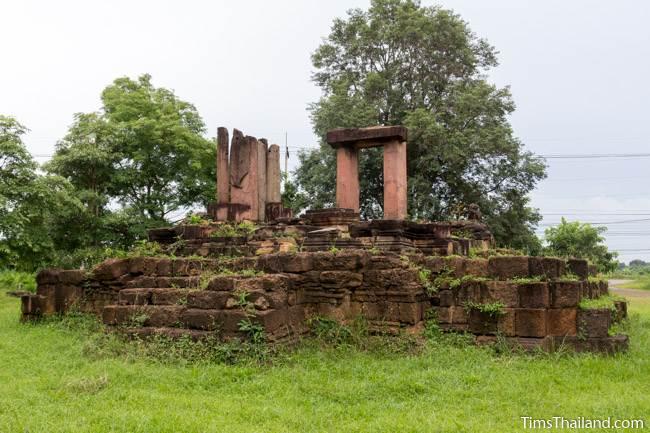 main prang buidling at Prang Phakho Khmer ruin