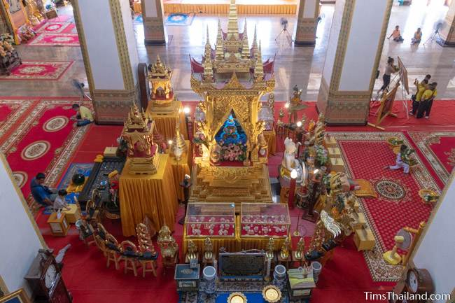 Buddha relic display case