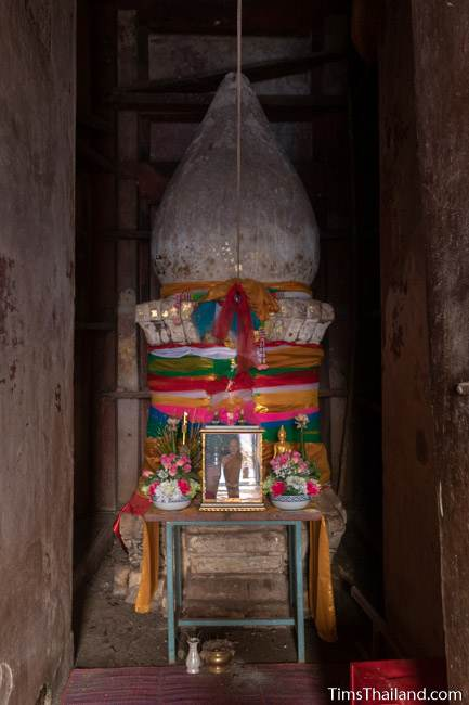 lotus-bud stupa inside the prang