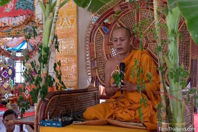 monk chanting