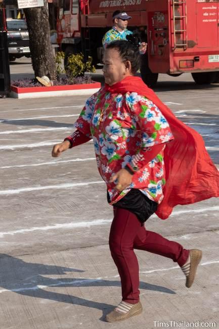 women in superman run