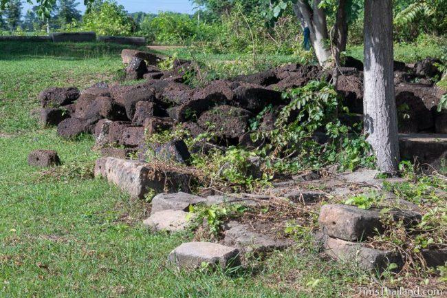 pile of unused stones