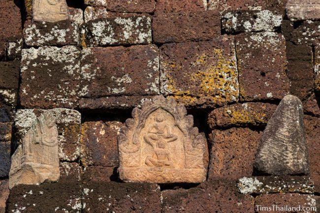 Vishnu antefix