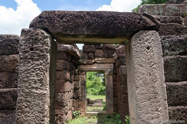 side doorways of gopura