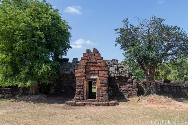 front of gopura